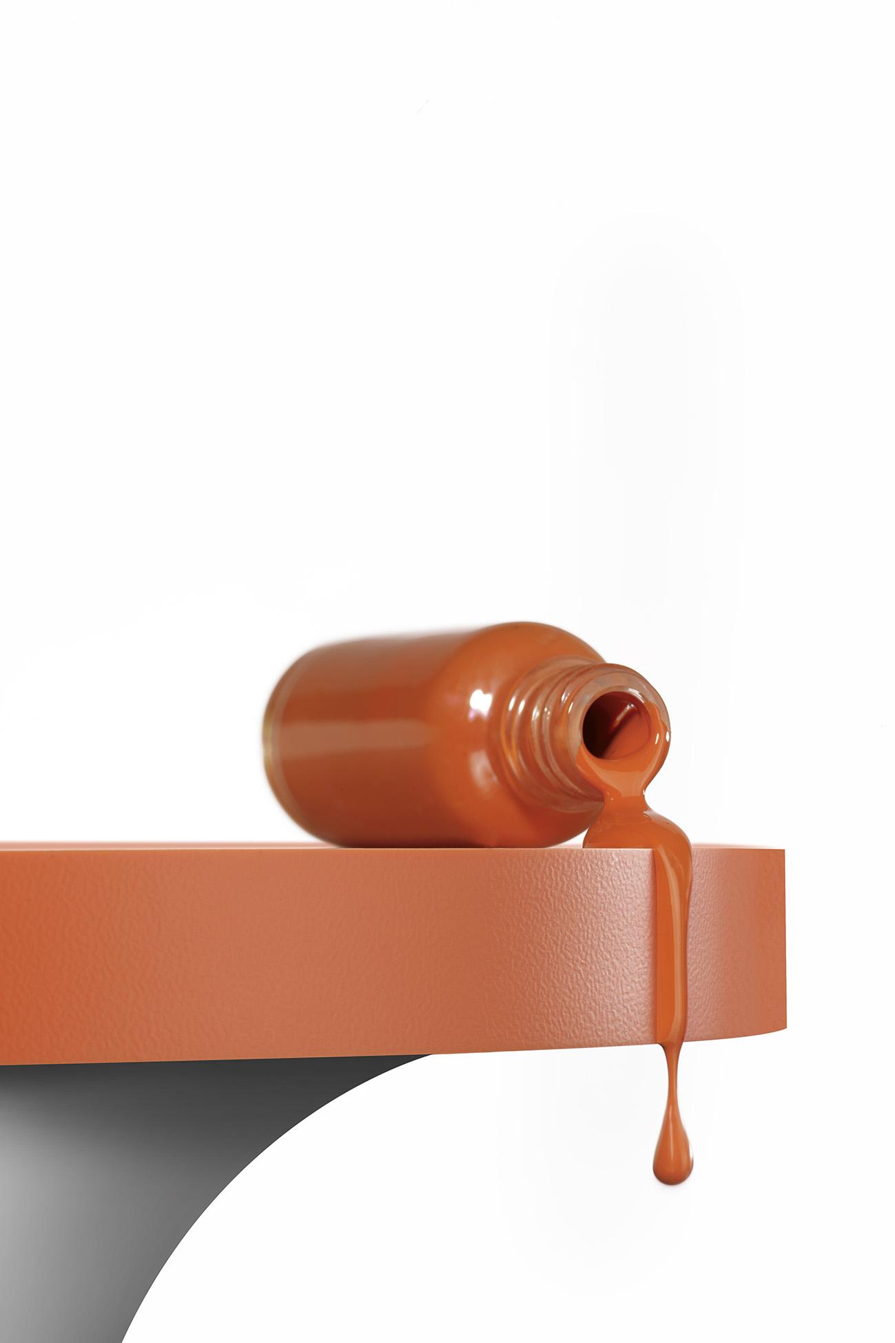 SURTECO Kantenband orange für die Möbelfertigung